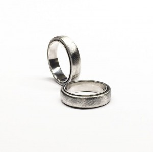 Obrączki Double Band Silver 5mm